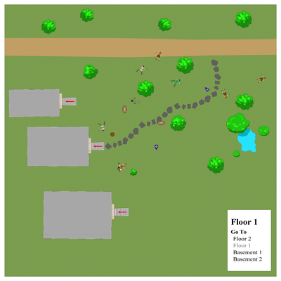 The Battlefield at the Barrows Floor 1