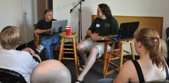 middle earth talk radio 14 at merpcon 5 2009 cropped