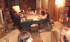 2014 Tolkien Moot X, ICE MERP (Iron Crown Enterprises Middle earth Role playing) table
