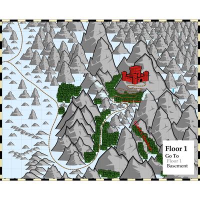 Tearan Castle Area Map 2 TolkienMoot XI Giants of the Ettenmoors A Giant Problem