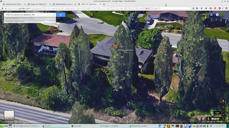 Lawrence Dr House Satellite Side 1 ZoomView20150714a