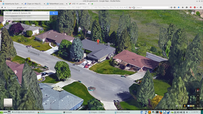 Lawrence Dr House Satellite Zoom View 20150714a side 2