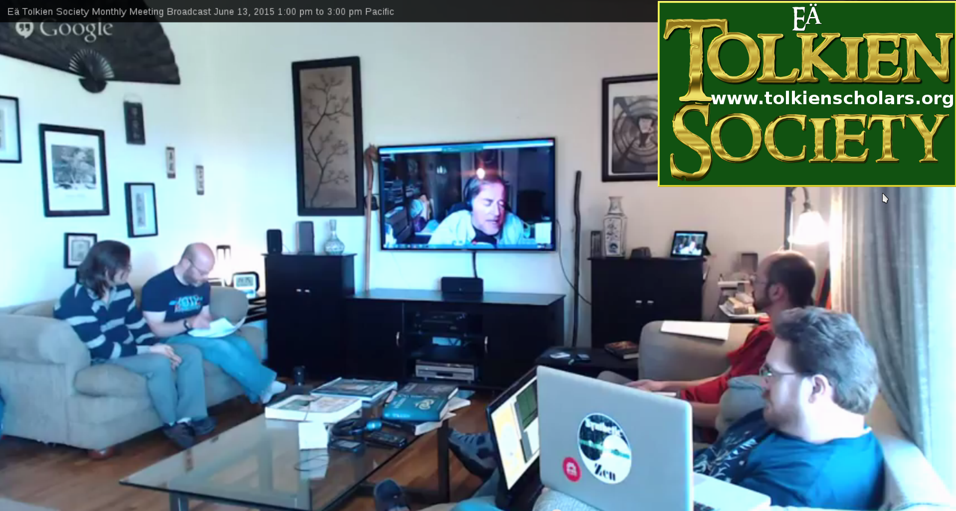 Tolkien Society Meeting April 16